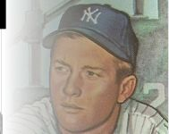 Mickey Mantle vintage baseball cards